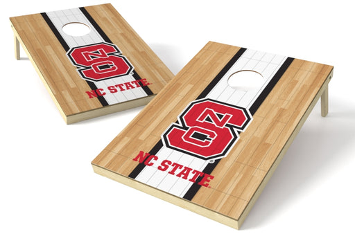 North Carolina State Wolfpack 2x3 Cornhole Board Set - Hardwood