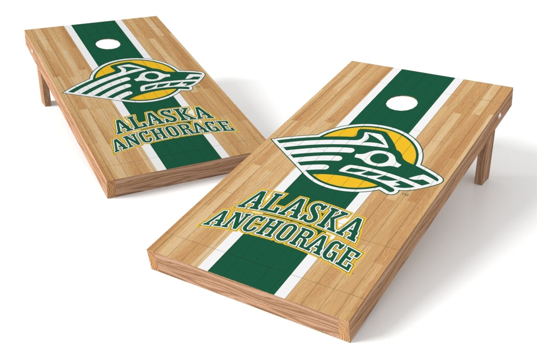 Alaska Anchorage 2x4 Cornhole Board Set - Wood