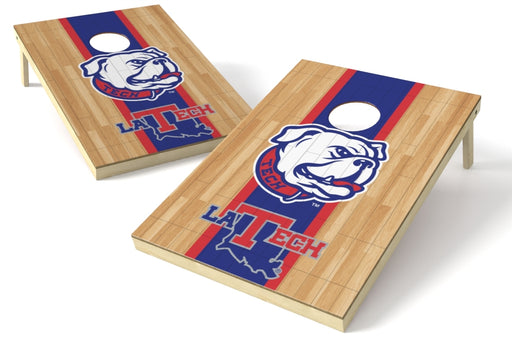 Louisiana Tech 2x3 Cornhole Board Set - Hardwood