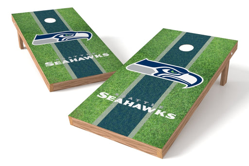 Seattle Seahawks 2x4 Cornhole Board Set - Field