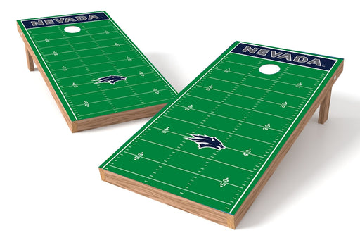 Nevada Wolfpack 2x4 Cornhole Board Set - Field