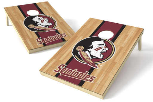 Florida State Seminoles 2x3 Cornhole Board Set - Hardwood