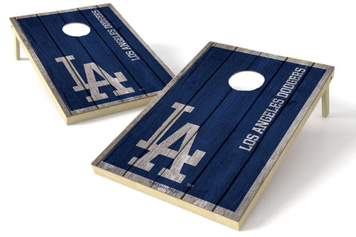 Los Angeles Dodgers 2x3 Cornhole Board Set - Vintage