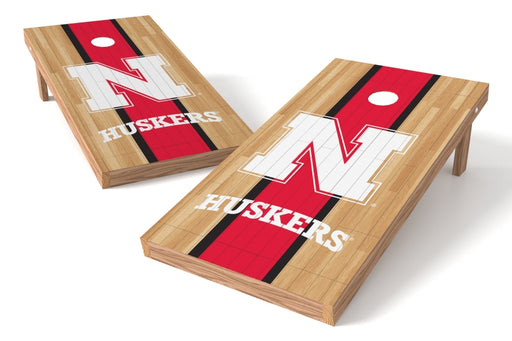 Nebraska Cornhuskers 2x4 Cornhole Board Set - Wood
