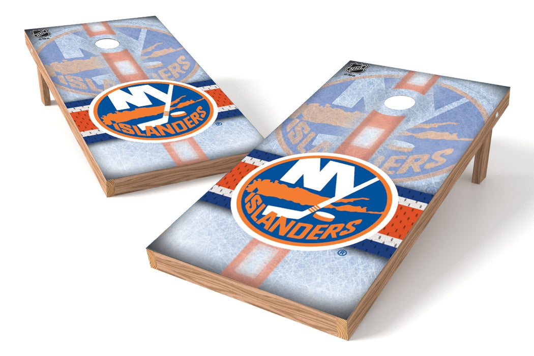New York Islanders 2x4 Cornhole Board Set - Rink