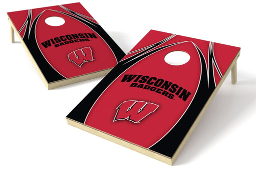 Wisconsin Badgers 2x3 Cornhole Board Set