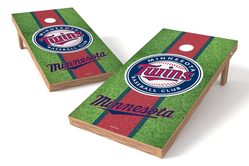 Minnesota Twins 2x4 Cornhole Board Set - Field
