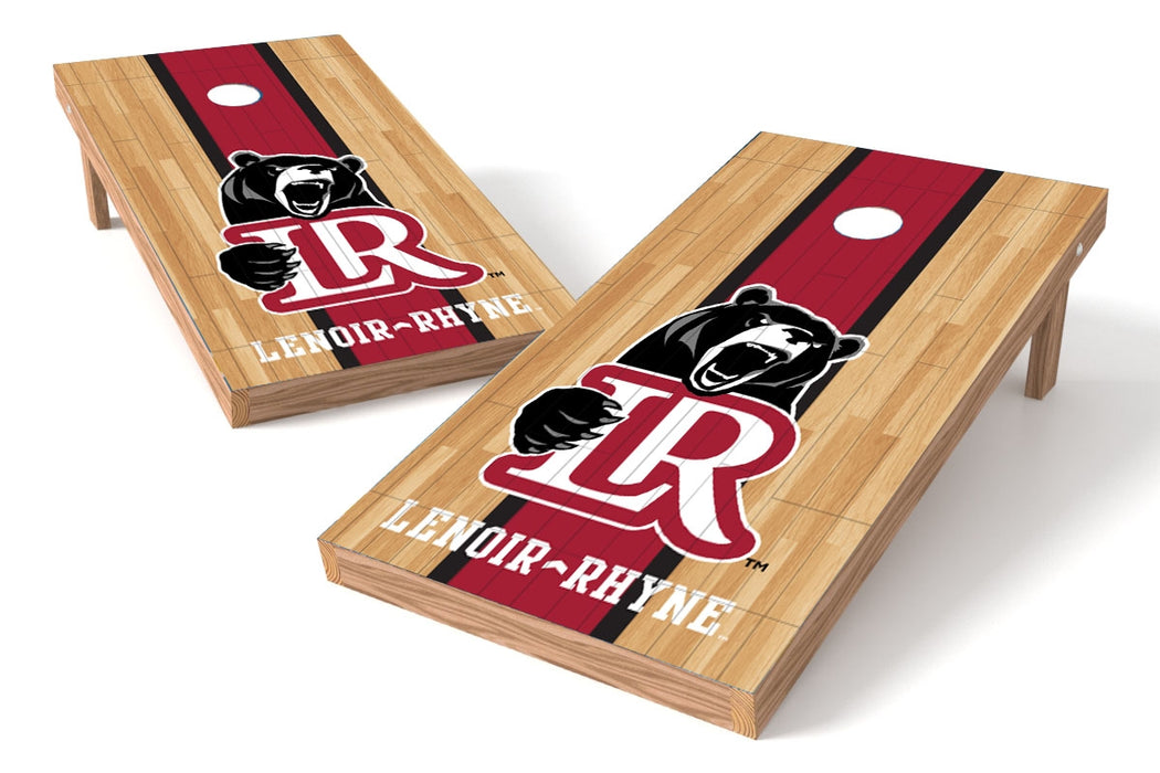 Lenoir-Rhyne U 2x4 Cornhole Board Set - Wood