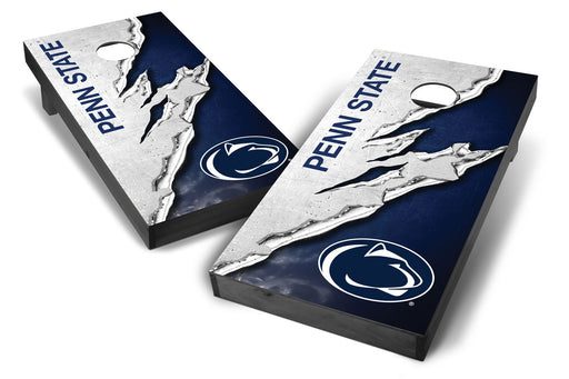 Penn State Nittany Lions 2x4 Cornhole Board Set Onyx Stained -  Ripped