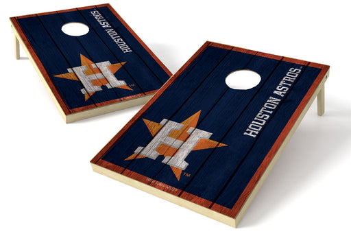 Houston Astros 2x3 Cornhole Board Set - Vintage