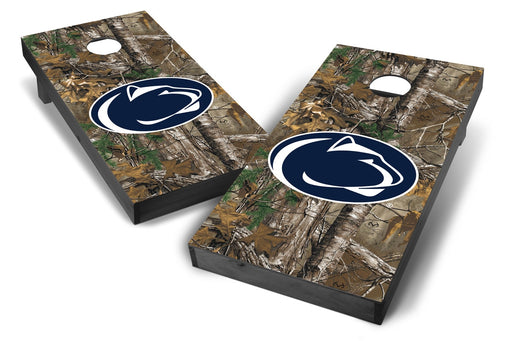 Penn State Nittany Lions 2x4 Cornhole Board Set Onyx Stained - Xtra Camo