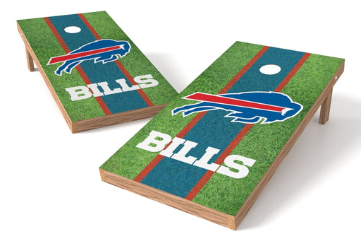 Buffalo Bills 2x4 Cornhole Board Set - Field