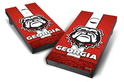 Georgia Bulldogs 2x4 Cornhole Board Set Onyx Stained - Wild