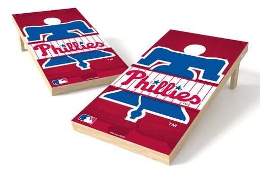 Philadelphia Phillies 2x4 Cornhole Board Set - Logo