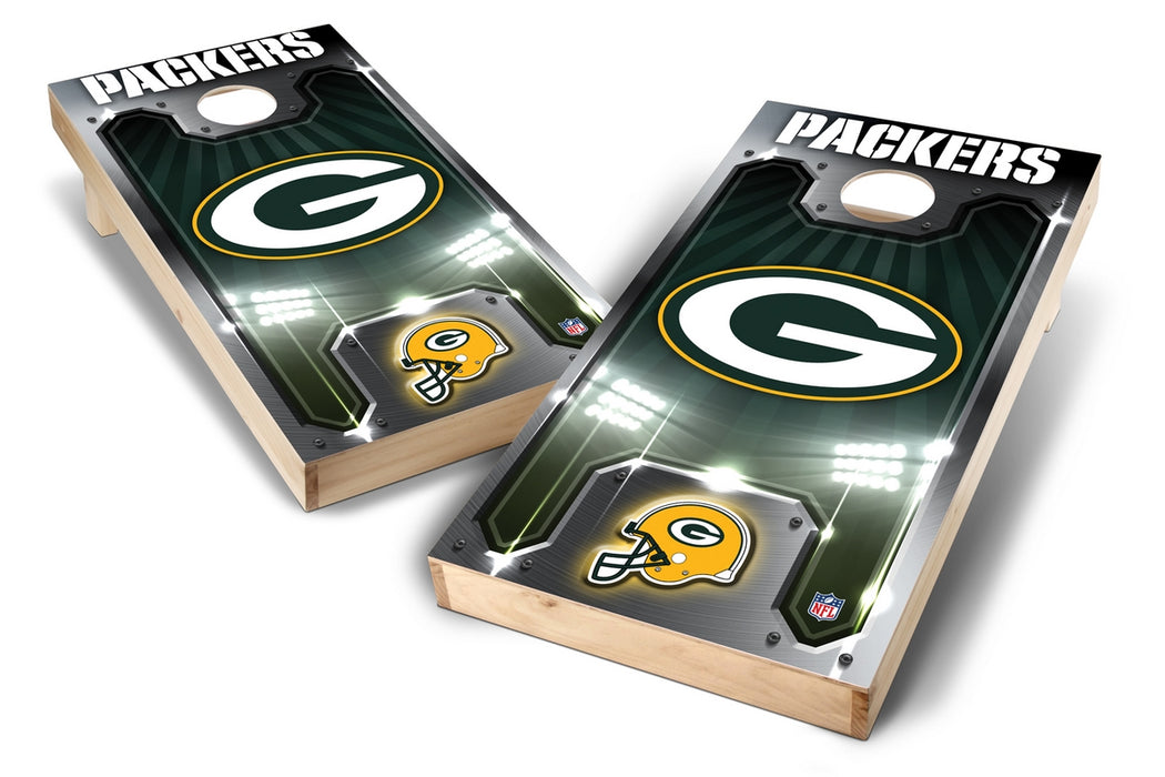 Green Bay Packers 2x4 Cornhole Board Set - Plate