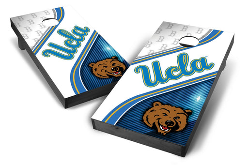 UCLA Bruins 2x4 Cornhole Board Set Onyx Stained - Swirl