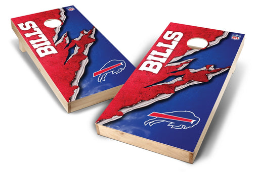 Buffalo Bills 2x4 Cornhole Board Set - Ripped