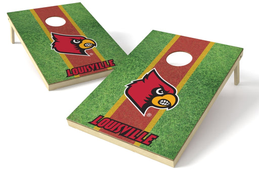Louisville Cardinals 2x3 Cornhole Board Set - Field
