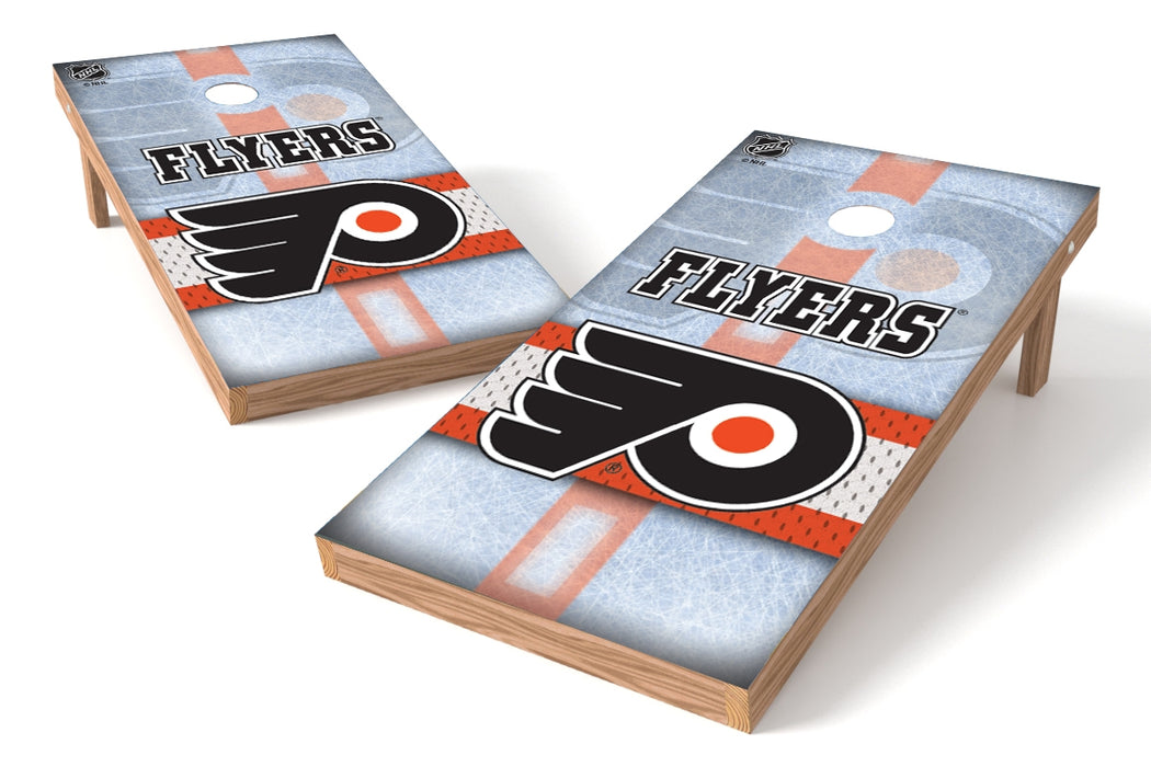 Philadelphia Flyers 2x4 Cornhole Board Set - Rink