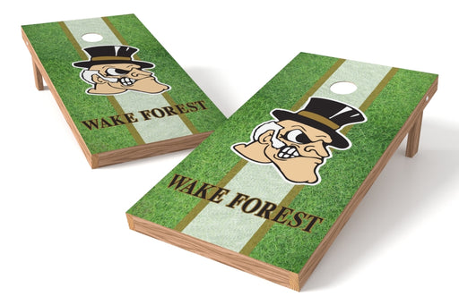 Wake Forest Deamon Deacons 2x4 Cornhole Board Set - Field