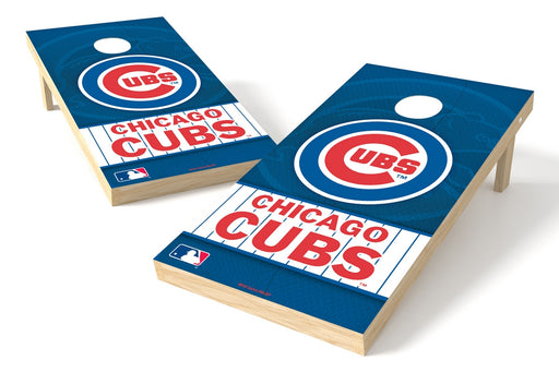 Chicago Cubs 2x4 Cornhole Board Set - Logo