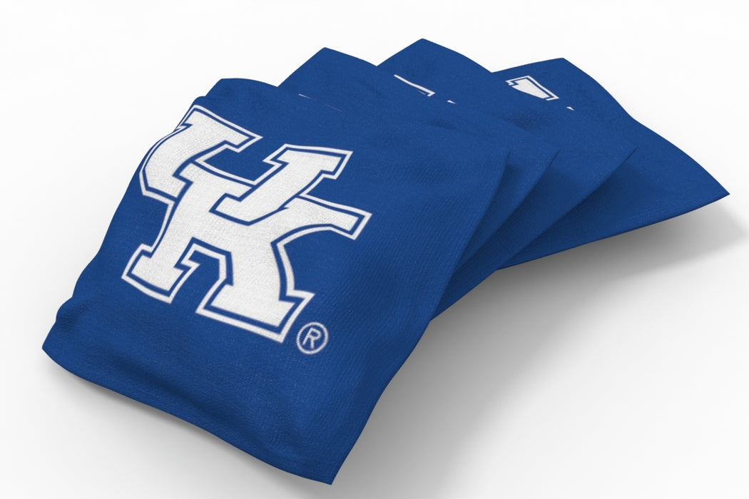 Kentucky Wildcats 2x4 Cornhole Board Set Onyx Stained - Uniform