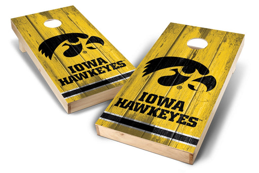 Iowa Hawkeyes 2x4 Cornhole Board Set - Vintage
