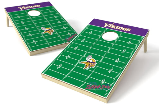 Minnesota Vikings 2x3 Cornhole Board Set - Field