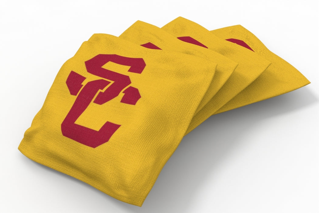 USC Trojans 2x4 Cornhole Board Set Onyx Stained - Wild