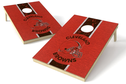 Cleveland Browns 2x3 Cornhole Board Set - Heritage