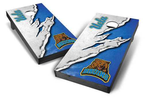 UCLA Bruins 2x4 Cornhole Board Set Onyx Stained -  Ripped