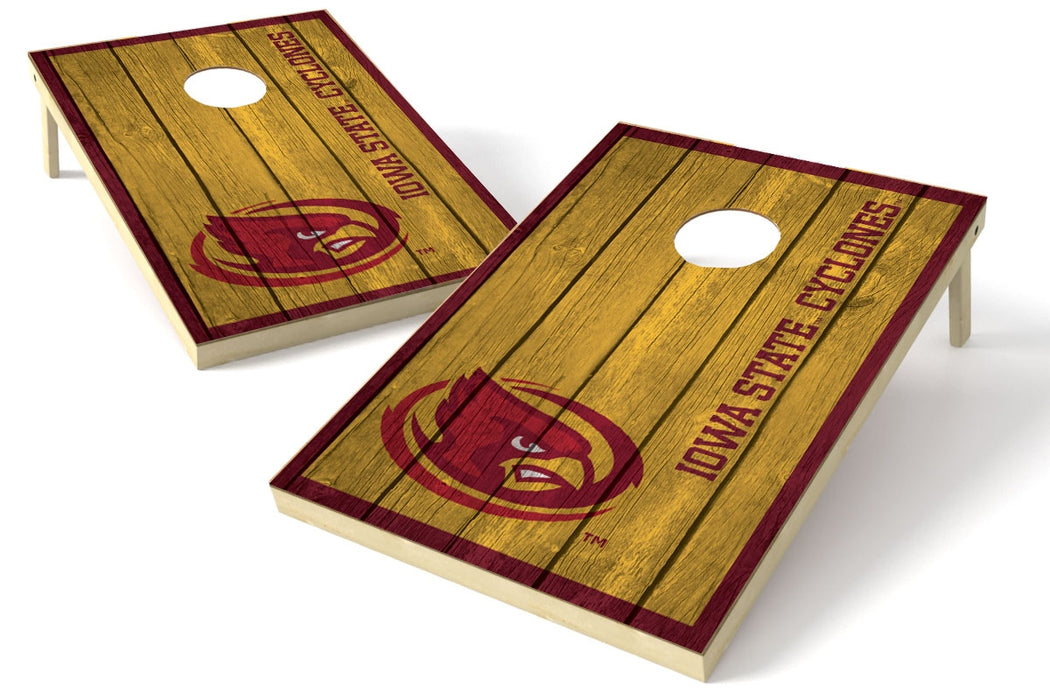 Iowa State Cyclones 2x3 Cornhole Board Set - Vintage