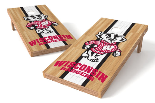 Wisconsin Badgers 2x4 Cornhole Board Set - Wood