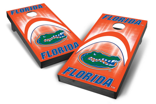 Florida Gators 2x4 Cornhole Board Set Onyx Stained - Arch