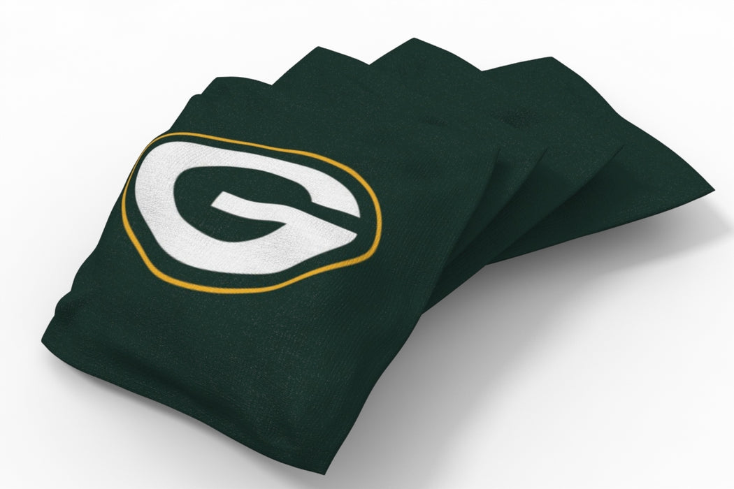 Green Bay Packers  Solid Bean Bags - 4pk