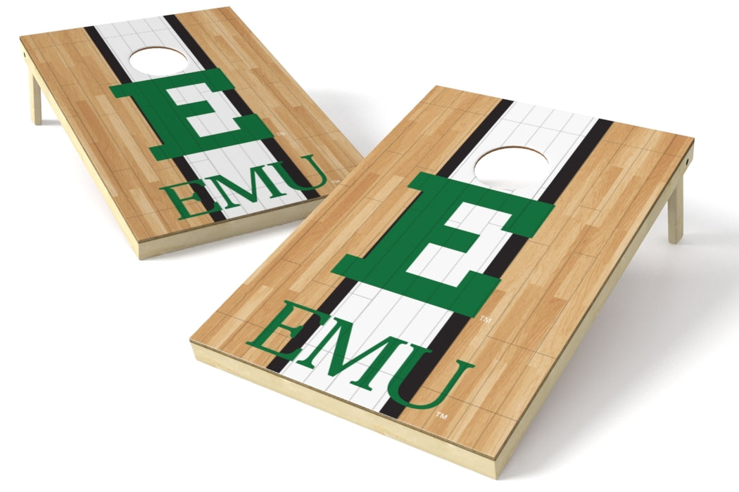 Eastern Michigan 2x3 Cornhole Board Set - Hardwood