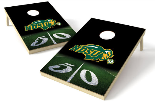 North Dakota State 2x3 Cornhole Board Set - 50 Yard Line