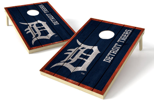 Detroit Tigers 2x3 Cornhole Board Set - Vintage