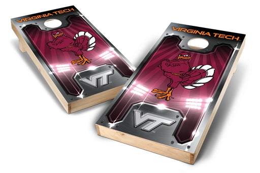 Virginia Tech Hokies 2x4 Cornhole Board Set - Plate