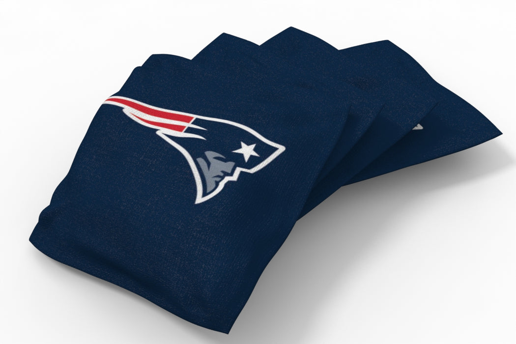 New England Patriots 2x4 Cornhole Board Set - Medallion