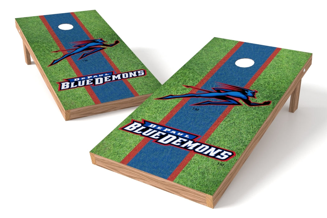DePaul U 2x4 Cornhole Board Set - Field