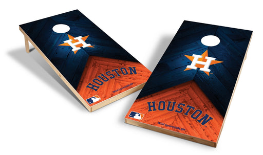 Houston Astros 2x4 Cornhole Board Set - Weathered