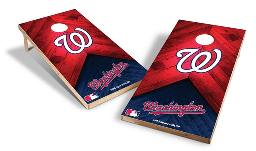 Washington Nationals 2x4 Cornhole Board Set - Weathered