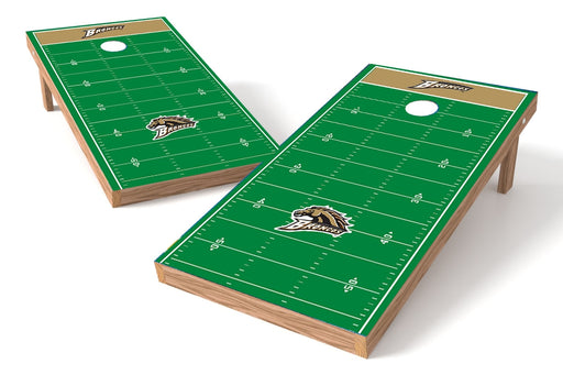 Western Michigan 2x4 Cornhole Board Set - Field