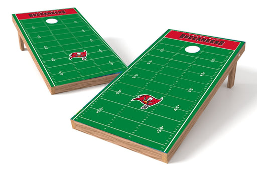 Tampa Bay Buccaneers 2x4 Cornhole Board Set - Field