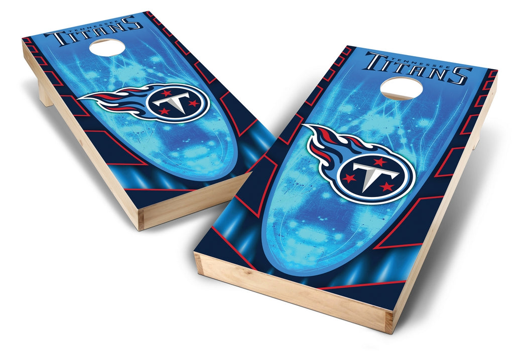 Tennessee Titans 2x4 Cornhole Board Set - Hot