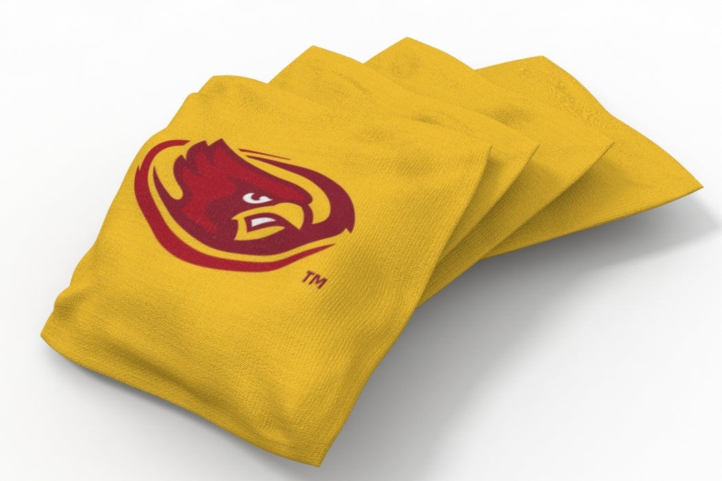 Iowa State Cyclones 2x4 Cornhole Board Set - Plate