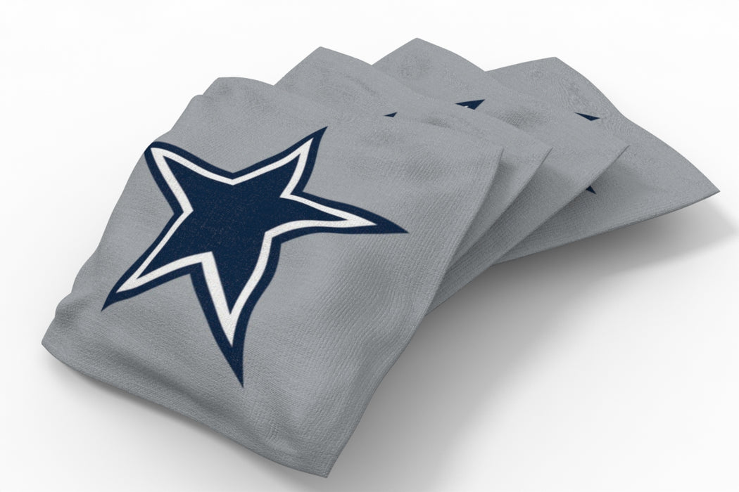 Dallas Cowboys 2x4 Cornhole Board Set Onyx Stained - Ripped