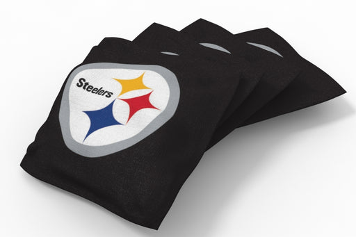 Pittsburgh Steelers  Solid Bean Bags - 4pk