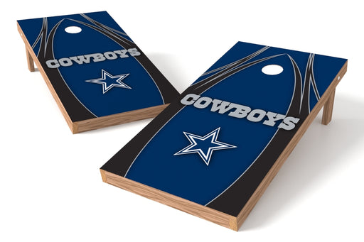 Dallas Cowboys 2x4 Cornhole Board Set - Edge
